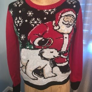 Sweaters - LED light up Christmas Sweater